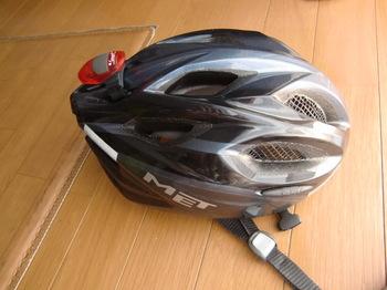 自転車の 自転車 ヘルメット ドイツ製 : 虫よけネットがヘルメットに ...